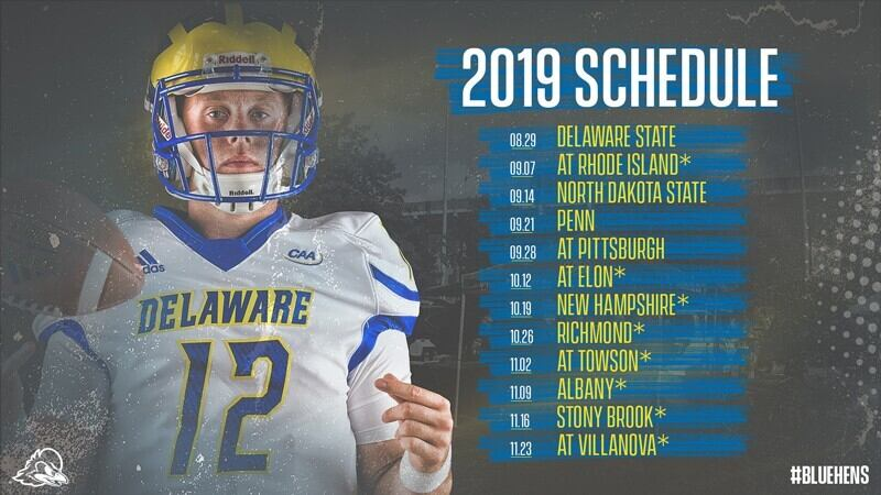 University Of Delaware Calendar 2021 Blue Hens' 2019 football schedule | UDaily