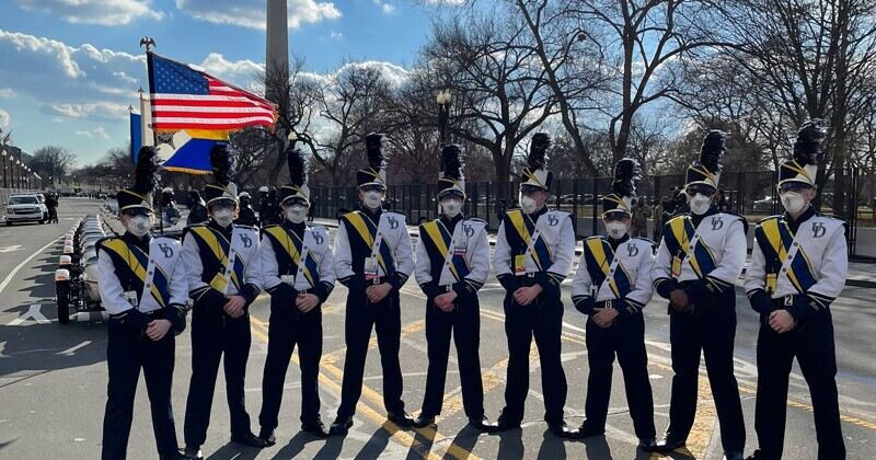 UD Drumline performs on Inauguration Day | UDaily