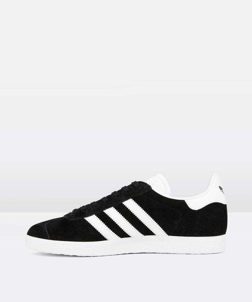 Gazelle Sneakers Black/White/Gold