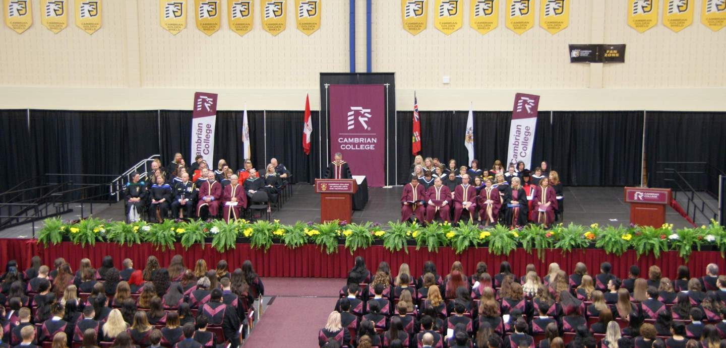 Cambrian College Holds Convocation Ceremonies Cambrian College