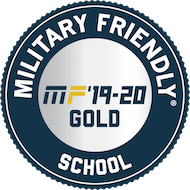 Military friendly gold award