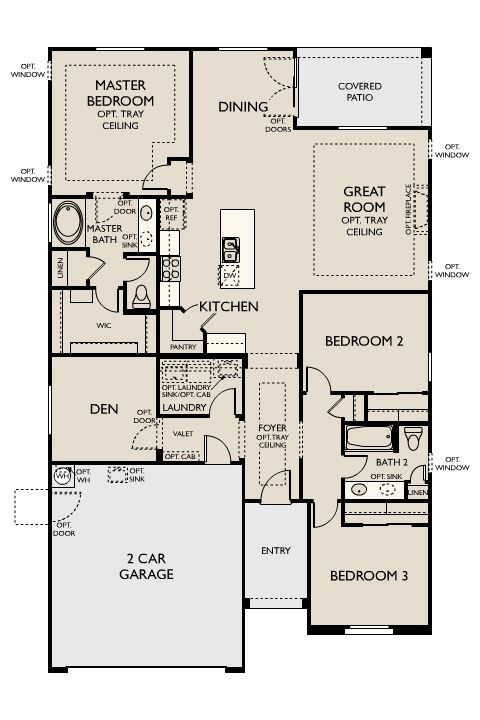 The Ashley 1779 New Home Plan In Phoenix By Ashton Woods