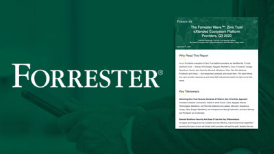 The Forrester Wave™: Zero Trust eXtended Ecosystem Platform Providers, Q3 2020 report
