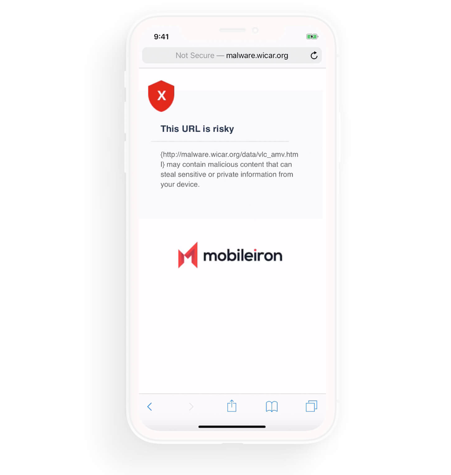 Prevent Mobile Phishing Attacks with mobile threat prevention - Mobileiron MTD