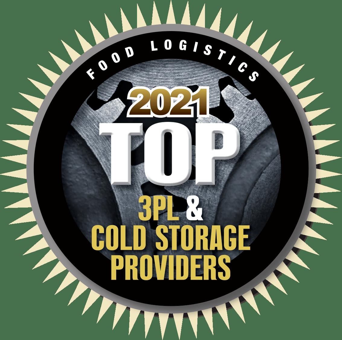 2021 Food Logistics Top 3PL Provider