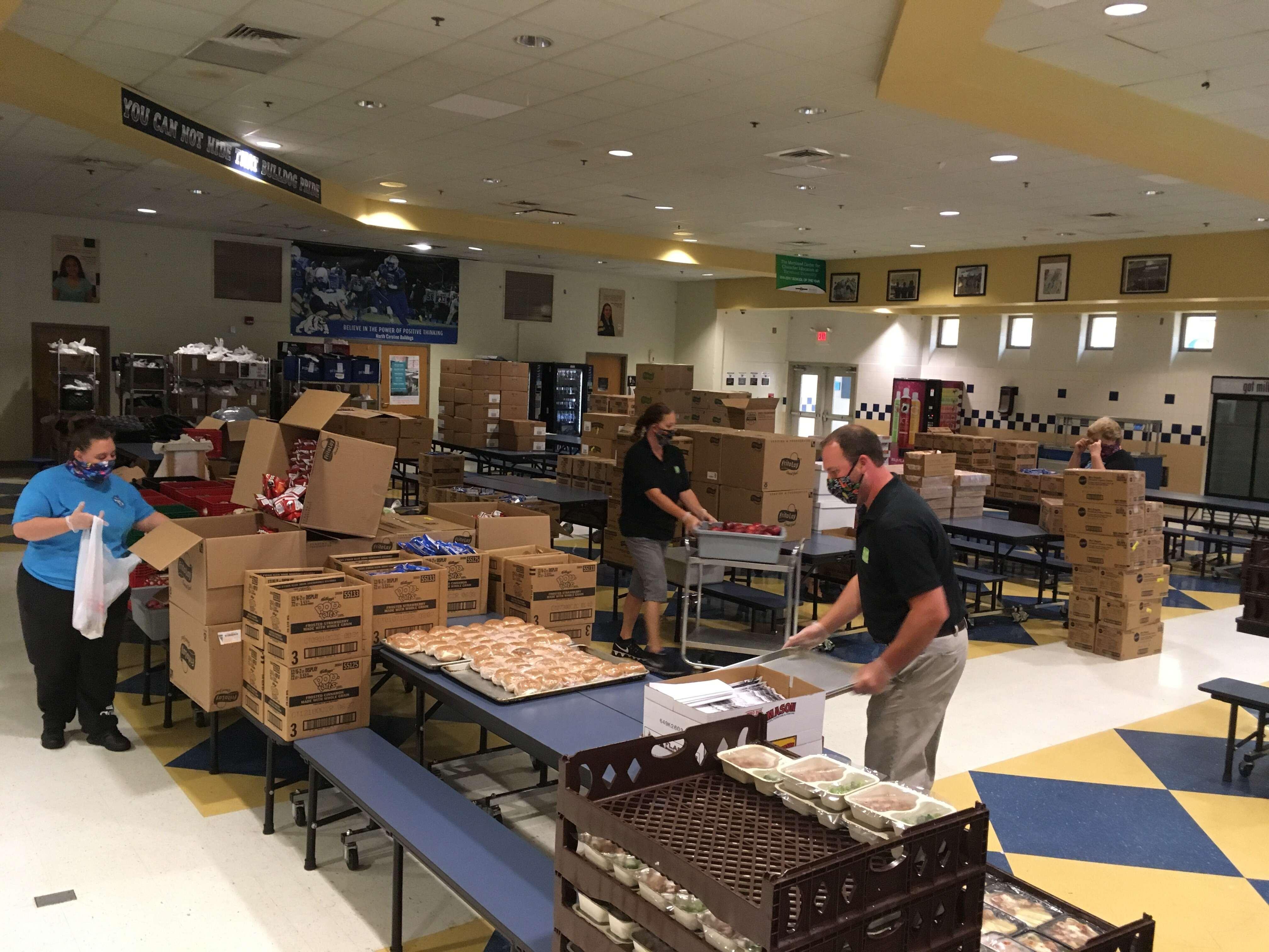 Delivering Food