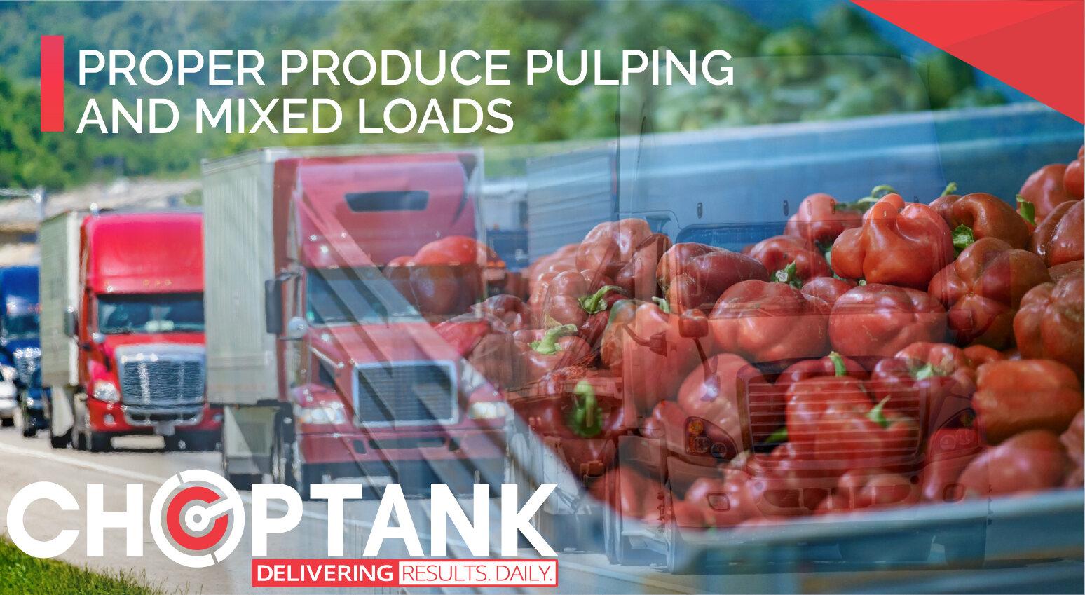 proper pulping