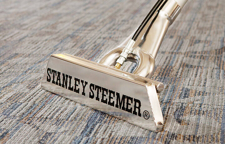 Commercial carpet cleaning with Stanley Steemer equipment