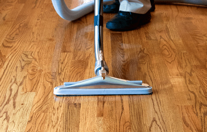 The best hardwood floor cleaning.