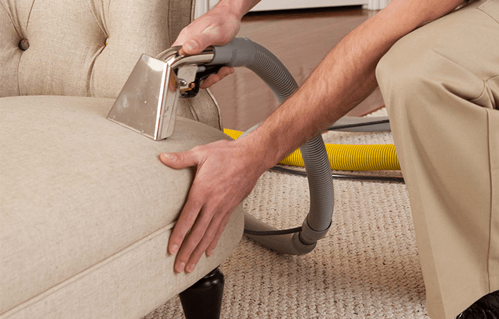 The best upholstery steam cleaning.