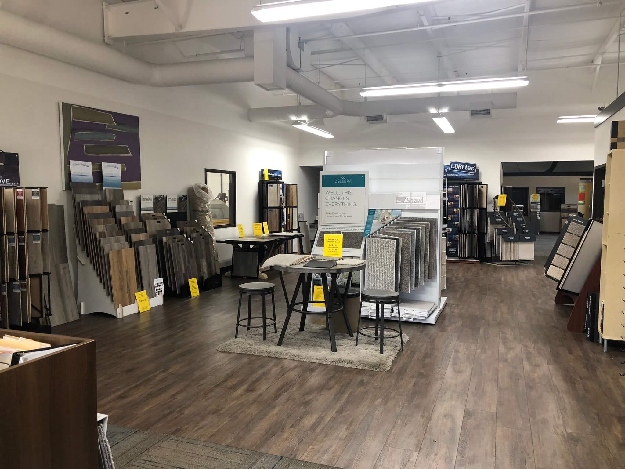 Stanley Steemer Floor Showroom in Grand Rapids