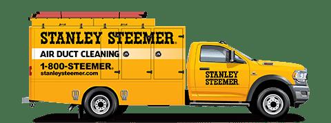 Logo: Stanley Steemer Van