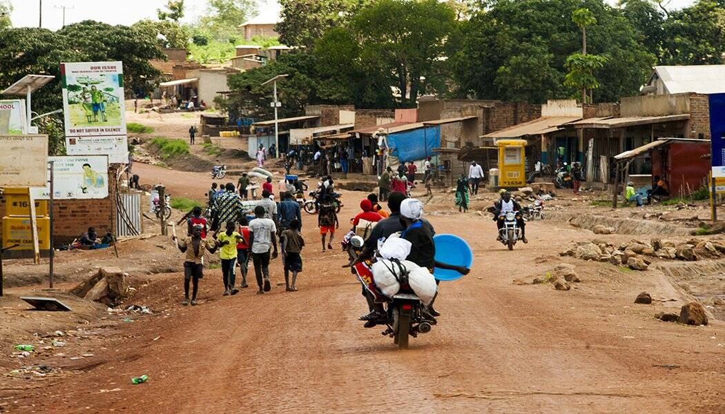 Kiryandongo refugee settlement in Uganda