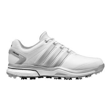 adidas adipower boost Men's Golf Shoe - White/Black
