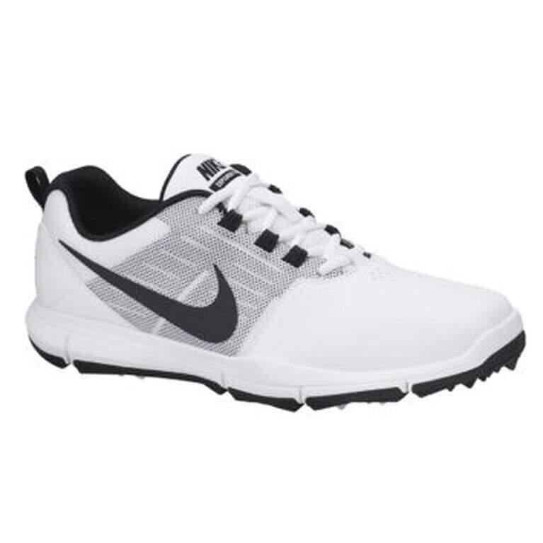 gusano Deportista Decaer  Nike Explorer Men's Golf Shoe - White | PGA TOUR Superstore