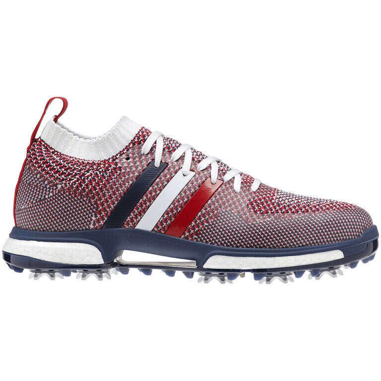 Adidas Tour 360 Knit Usa Men S Golf Shoe Red White Blue Pga Tour Superstore