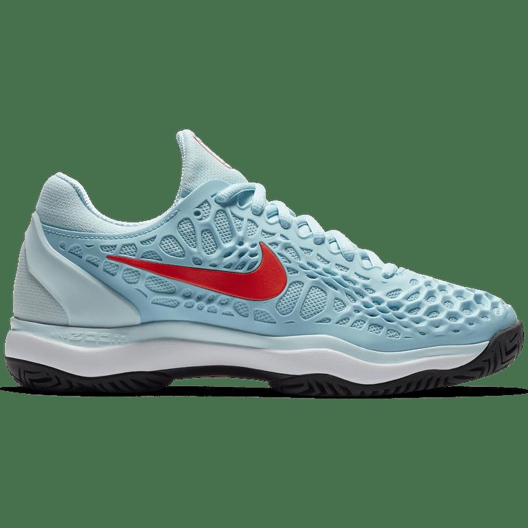 Nike Zoom Cage 3 Women's Tennis Shoe - Light Blue