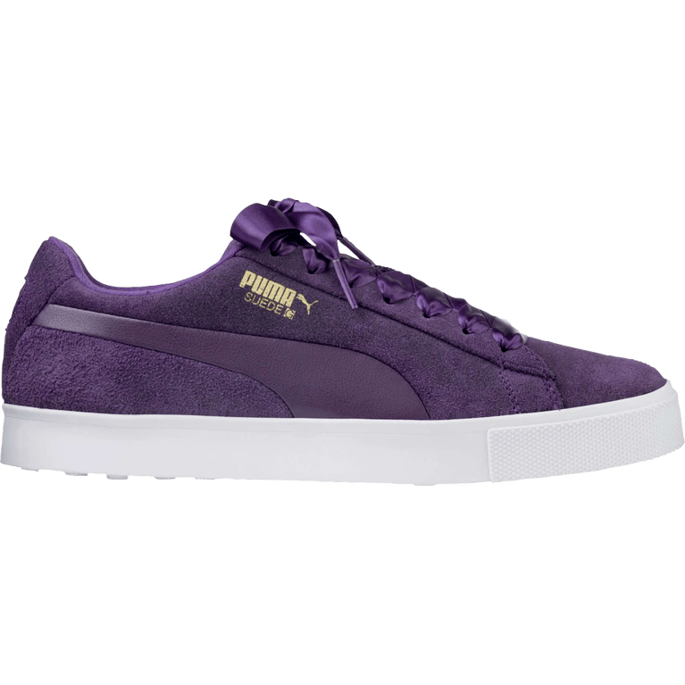 PUMA Suede G Women's Golf Shoe - Purple