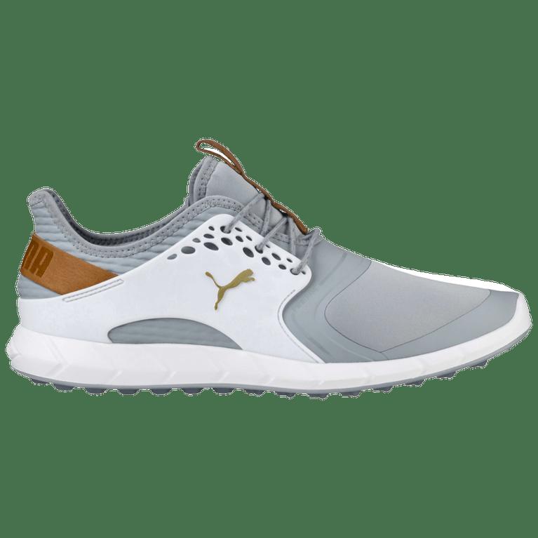 Puma Ignite Pwrsport Men S Golf Shoe Grey White Pga Tour Superstore