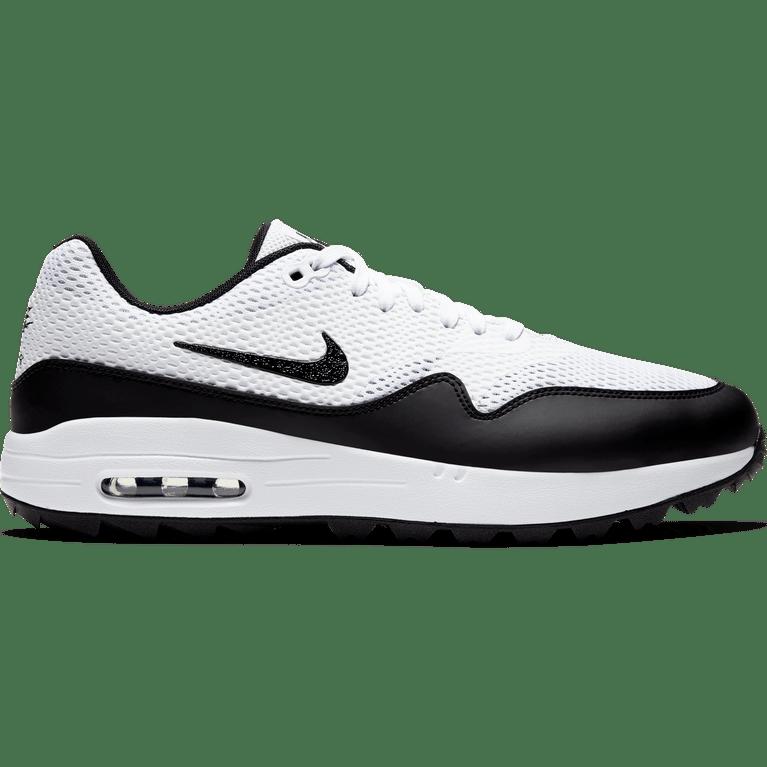 Air Max 1 G Men's Golf Shoe - White/Black