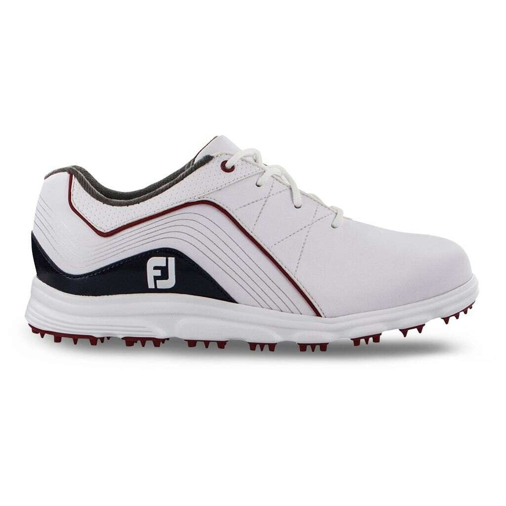 FootJoy PRO/SL Junior Golf Shoe - Red