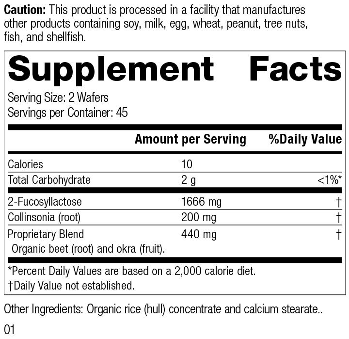 GI Stability™ Supplement Facts