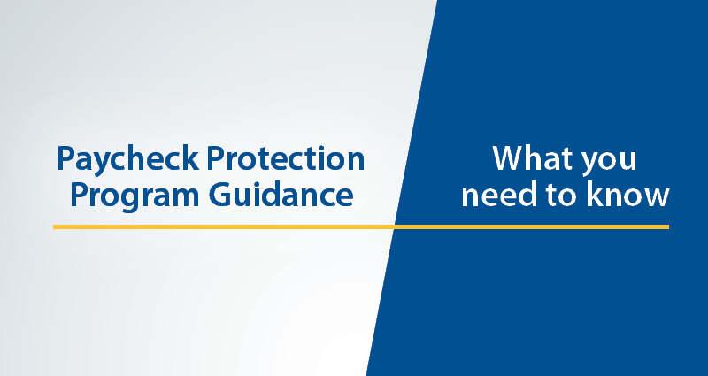 PPP Guidance web banner