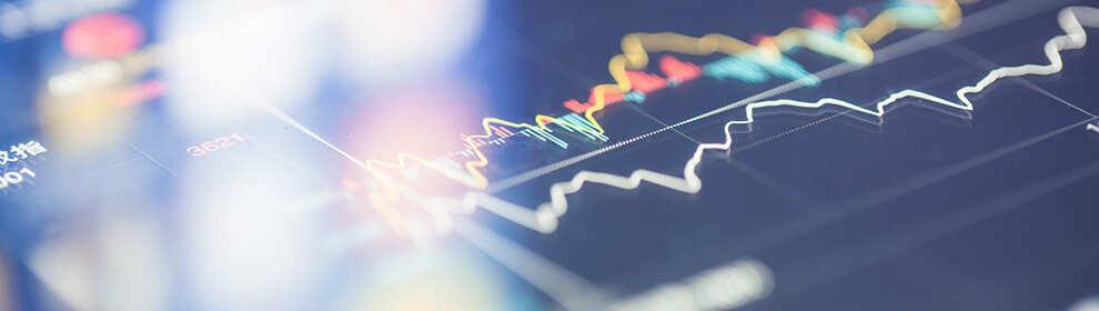 rates line chart
