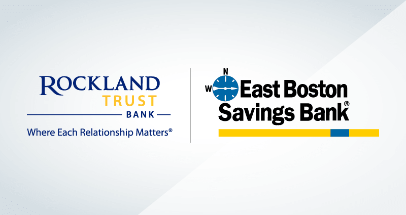 rockland trust and east boston savings bank