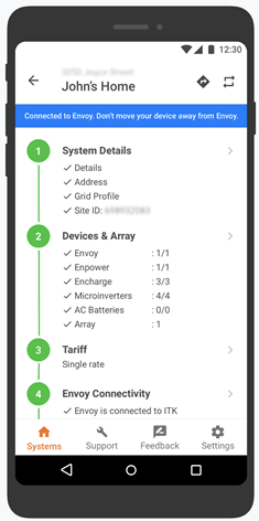 Envoy connectivity
