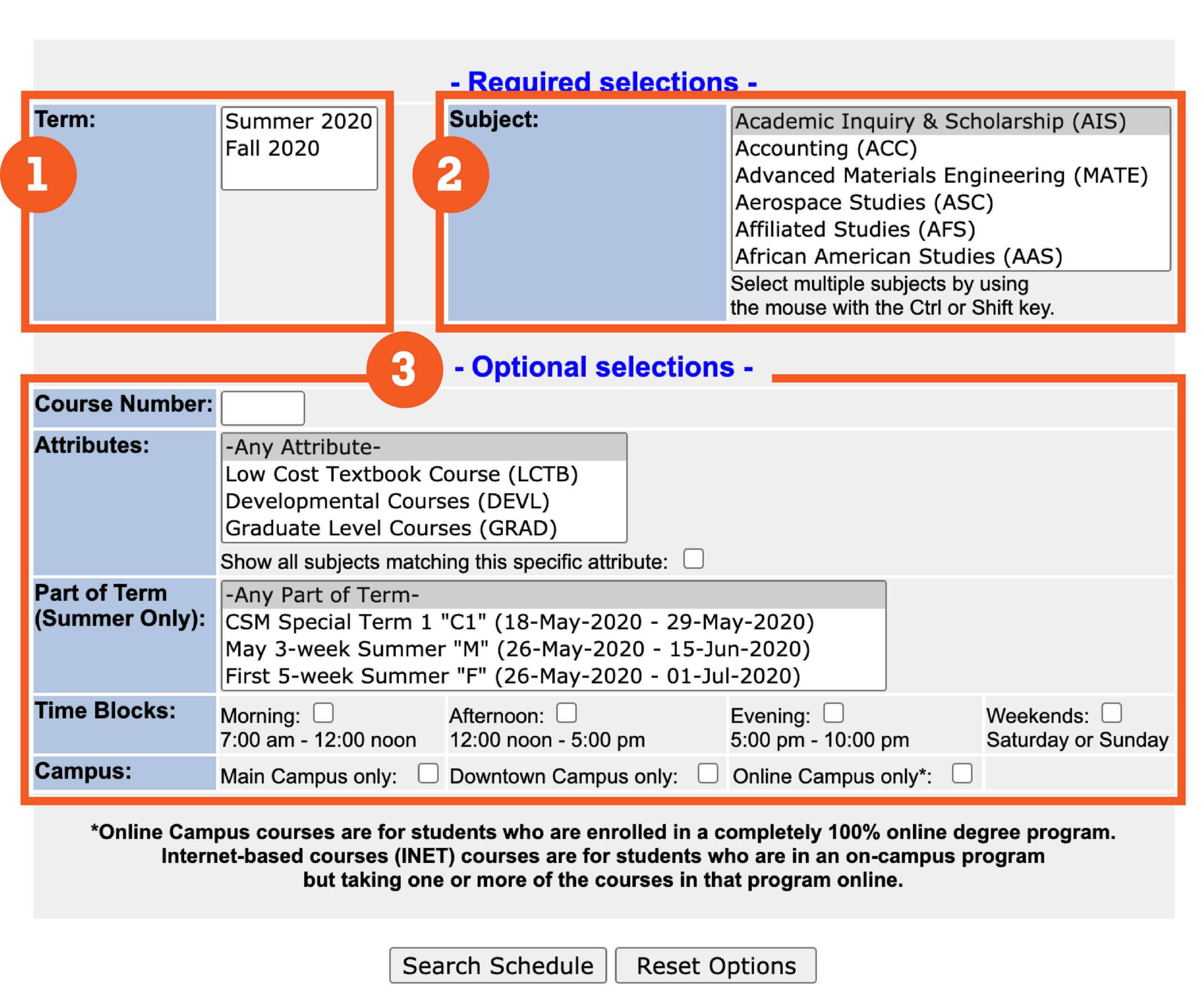 Utsa Summer 2021 Calendar Class Schedule – UTSA One Stop