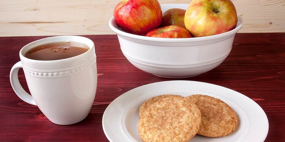 Apple Cider and Cookies