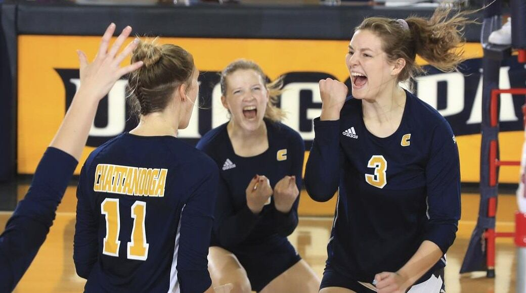 Measuring Success 18 Hours A Semester Member Of Volleyball Team 3 6 Gpa Utc News Releases