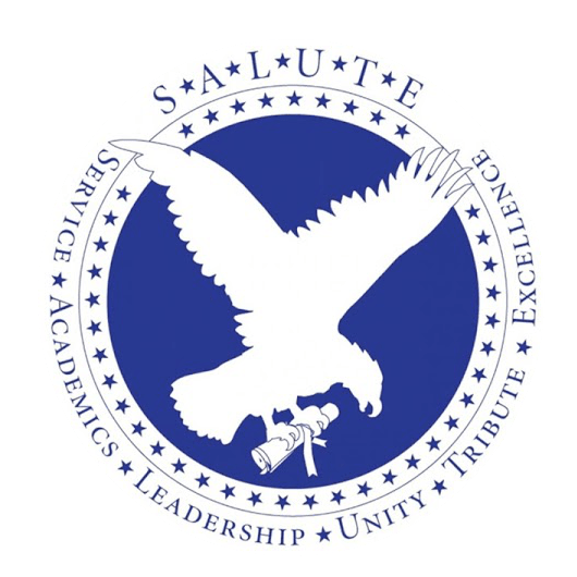 UTC Salute logo: Service, Academics, Leadership, Unity, Tribute, Excellence