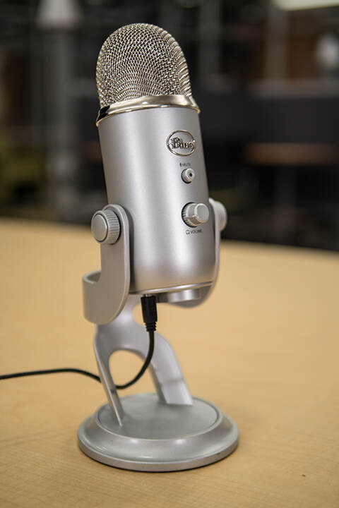 Photo of Yeti microphone
