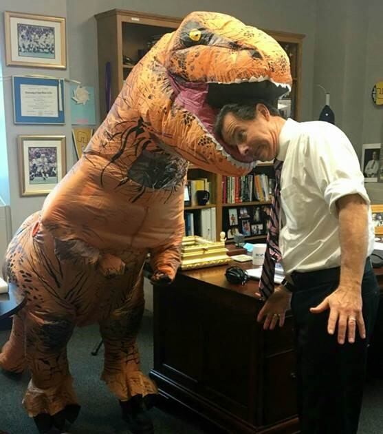 T-Rex and Dr. O