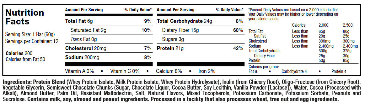 Mission1 Baked Protein Bar   MuscleTech