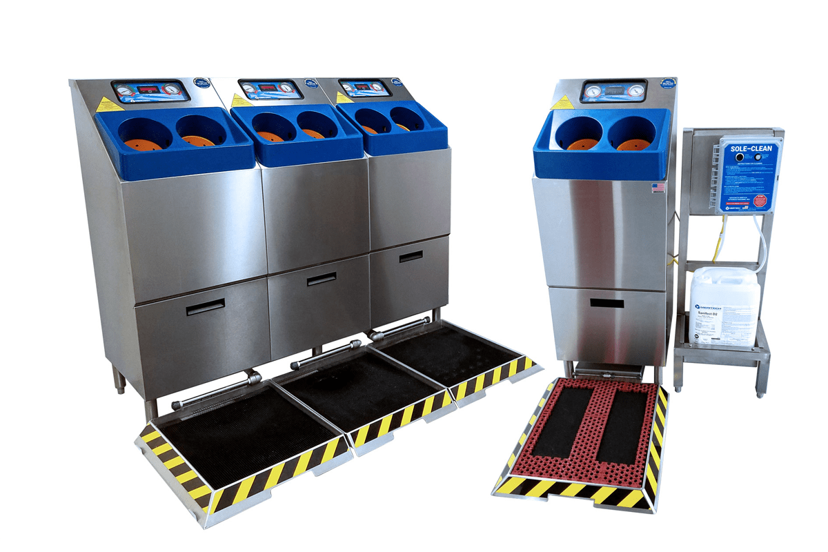 Automated Hand Washing Stations For Food Processing Meritech