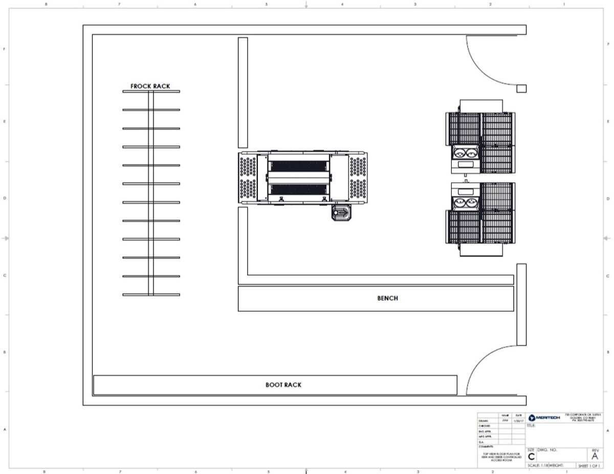 Sample Hygiene Room Layout-1