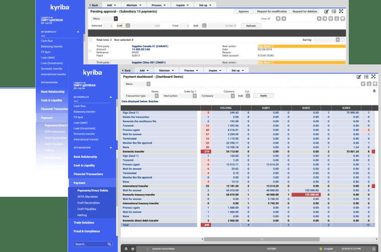 SaaS Treasury Management Software | Kyriba