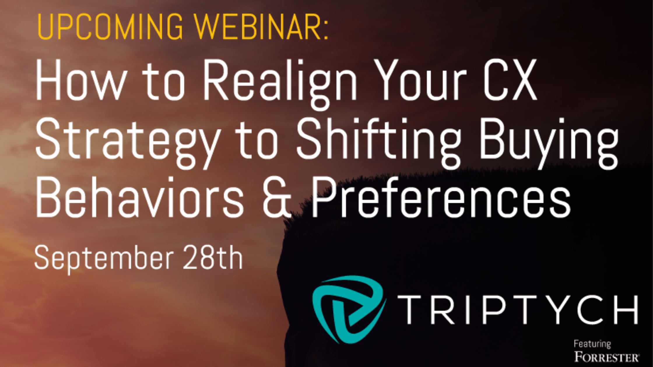 LIVE Triptych Webinar Ft. Data fromForrester's 2021 B2B Buying Study