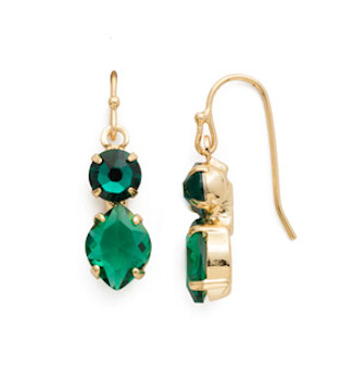 Handcrafted Green Crystal Jewelry