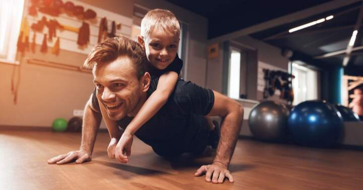 set a good example as a gay dad for exercise