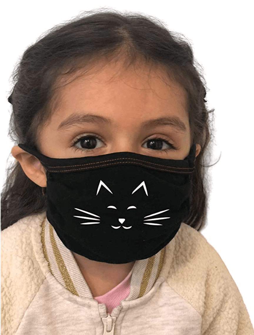 Kid dust cover rewashable scarf face mask