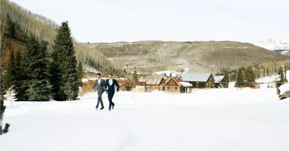 dunton hot springs wedding colorado