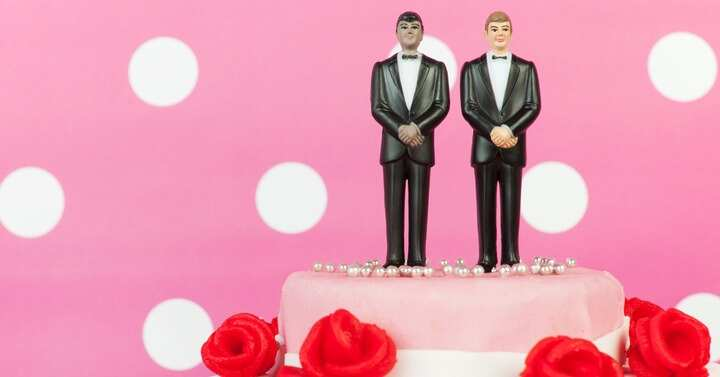 mr and mr cake toppers same sex wedding ideas
