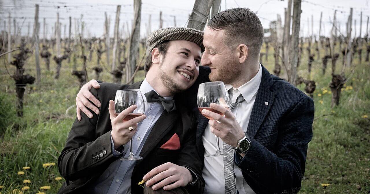 gay friendly wedding venue celebrating
