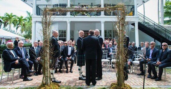 wedding at manor house gay friendly