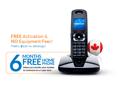 Canada Home Phone Plans Unlimited Calling In Canada Comwave