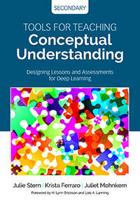 Tools For Teaching Conceptual Understanding Secondary Corwin